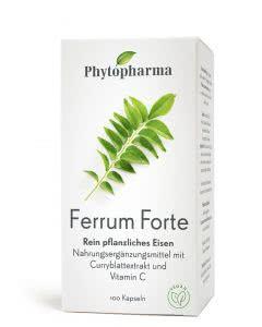 Phytopharma Ferrum Forte - 100 Kaps.
