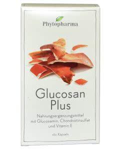 Phytopharma Glucosan PLUS - mit Glucosamin und Chondroitin für die Gelenke - 160 Kaps.