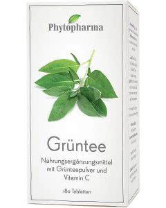 Phytopharma Grüntee Tabletten - 180 Stk.