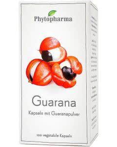 Phytopharma Guarana Kapseln - 100 Stk.