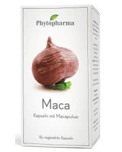 Phytopharma Maca (Lepidium meyenii walp) 400mg - 80 Kaps.
