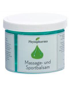 Phytopharma Massage- und Sport-Balsam  - 500g Topf