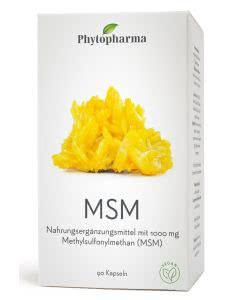 Phytopharma MSM Methylsufonylmethan 1000mg - 90 Kaps.