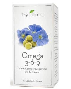 Phytopharma Omega 3-6-9 Kaps. - 110 Stk.