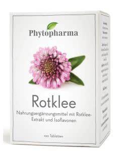 Phytopharma Rotklee-Extrakt Tabletten - 250mg - 100 Stk.
