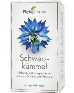 Phytopharma Schwarzkümmelöl Kapseln - 170 Stk.