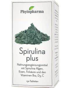 Phytopharma Spirulina Plus Kapseln - 150 Stk.