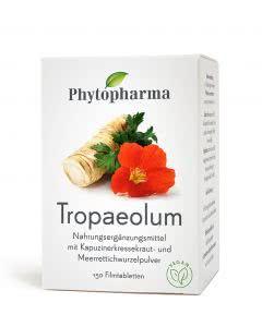 Phytopharma Tropaeolum (Kapuzinerkresse) - Meererettich  - 150 Tabl.