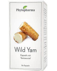 Phytopharma Wild Yam Kapseln - 80 Stk.