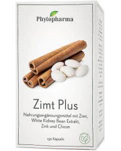 Phytopharma Zimt Plus Kapseln - 150 Stk.