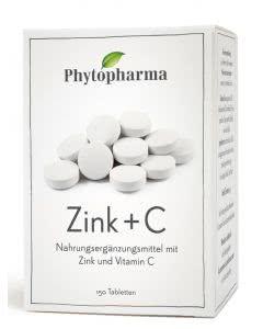 Phytopharma Zink + C Tabletten - 150 Tabletten