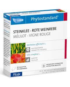 Phytostandards Pileje - Steinklee und Rote Weinrebe - 30 Stk.