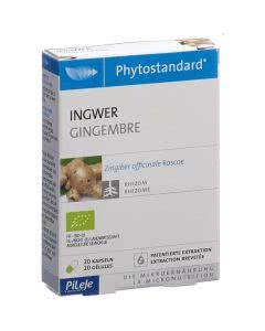PiLeJe Phytostandard Ingwer Kapseln Bio - 20 Stk.