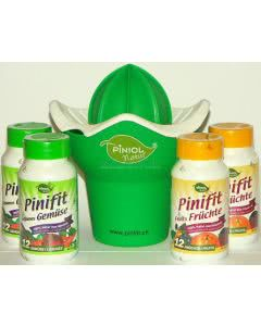 Pinifit Set für 4 Monate - 4x Früchte und 4x Gemüse