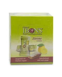 Piniol Display Ingwer Bonbon Zitrone - 12x60g
