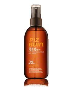 Piz Buin Tan and Protect Oel Sonnen-Schutz-Faktor 30 Spray - 150ml