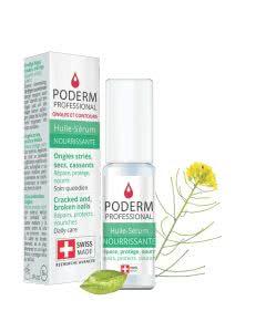 Poderm Professional Nagelserum - streifige brüchige Nägel - 8ml