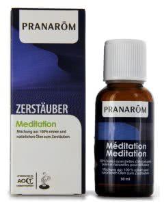 Pranarom Mischungen zu Verdampfer - MEDITATION - Tropfen 30ml