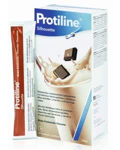 Protiline Silhouette Shake Schokolade - 10 Btl. à 25g