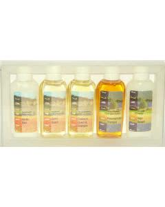 Provence Kräuter-Dusch- und Shampoo-Set 5 x 75ml