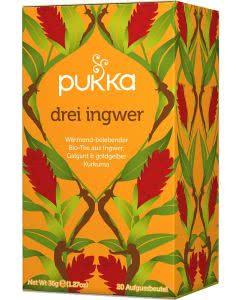 PUKKA Drei Ingwer Tee Bio - 20 Btl.
