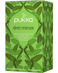 PUKKA Drei Minze Tee Bio - 20 Btl.