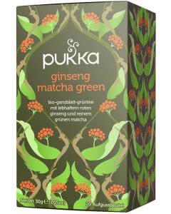 PUKKA Ginseng Matcha Green Tee Bio - 20 Btl.