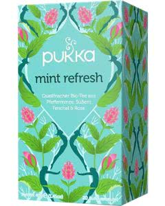 PUKKA Mint Refresh Tee - 20 Btl.