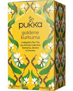 PUKKA Goldene Curcuma Tee Bio - 20 Btl.