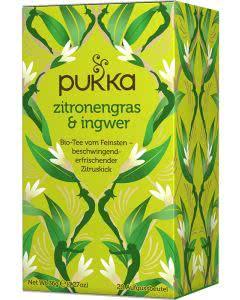 PUKKA Zitronengras & Ingwer Tee Bio - 20 Btl.