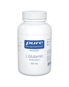 Pure L-Glutamin 850mg - 90 Stk.
