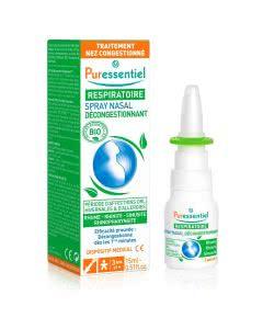Puressentiel Abschwellender Nasenspray mit ätherischen Ölen - 15ml