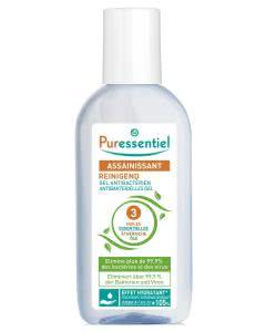Puressentiel Reinigender antibakterieller Gel mit 3 ätherischen Ölen - 80ml