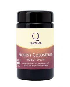 QuraDea Ziegen Colostrum ProBio Spezial Kapseln - 120 Stk.