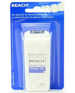 Reach (ACT) Dental floss - gewachst (blau) - 200m