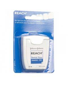 Reach (ACT) Dental floss - gewachst (blau) - 50m