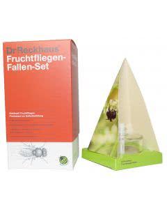 Dr. Reckhaus Fruchtfliegen-Klebefallen-Set mit Langzeitwirkung - 1 Set