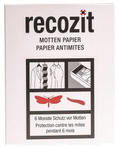 Recozit Motten Papier - 2x5 Stk.