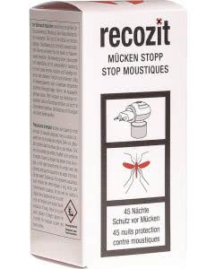 Recozit Mücken-Stopp Verdunster Set für 45 Tage