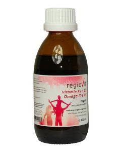 Regiovit Vitamin K2 + D3 Omega 3-6 Öl - 200ml