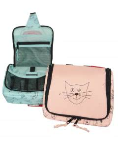 Reisenthel Kids Necessaire klein Cat and Dog - rose