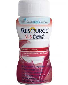 Nestle Resource 2.5 Compact Drink Cassis-Himbeere - 4 x 125ml