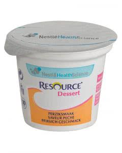 Nestle Resource Dessert Pfirsich - 4 x 125g