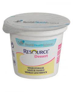 Nestle Resource Dessert Vanille - 4 x 125g