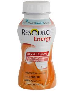 Nestle Resource Energy Drink Aprikose - 4 x 200ml