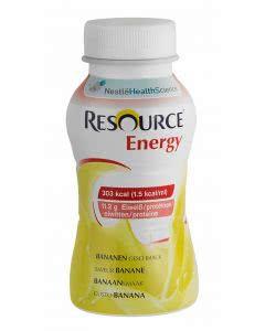 Nestle Resource Energy Drink Banane - 4 x 200ml