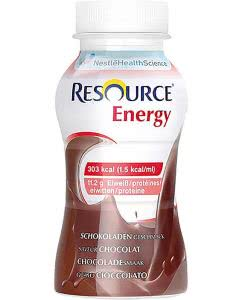 Nestle Resource Energy Drink Schokolade  - 4 x 200ml