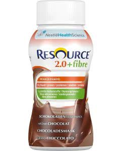 Nestle Resource 2.0 Fibre Drink Schokolade - 4 x 200ml