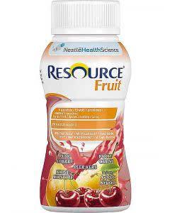 Nestle Resource Fruit Drink Birne Kirsche - 4 x 200ml