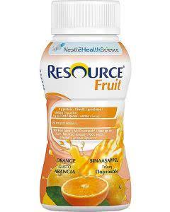 Nestle Resource Fruit Drink Orange - 4 x 200ml